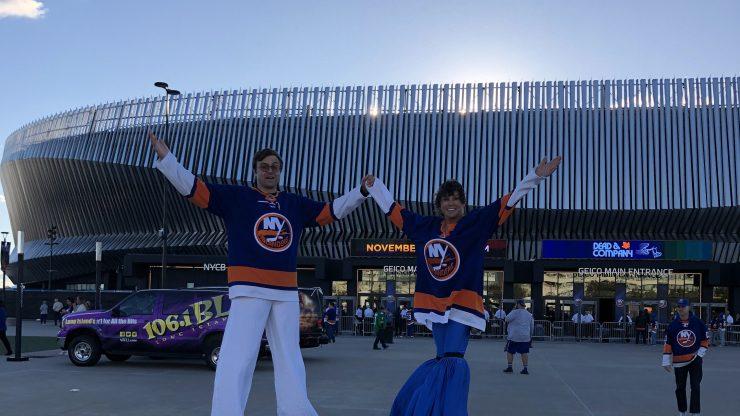 Nassau Coliseum, home of the New York Islanders