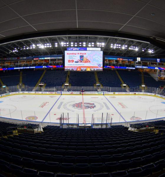 Bridgeport Sound Tigers home hockey arena