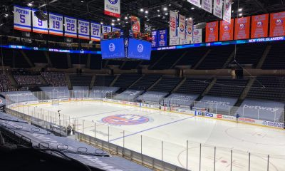 The New York Islanders home rink of Nassau Coliseum