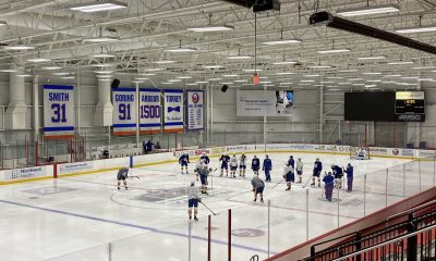 New York Islanders on opening day of training camp