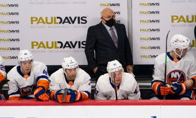 New York Islanders Barry Trotz
