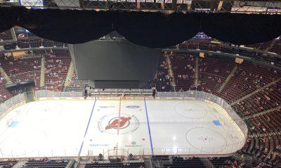 New York Islanders power outage Pru Center