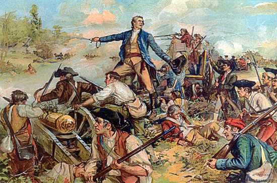 The Battle of Lake George, September 8, 1755