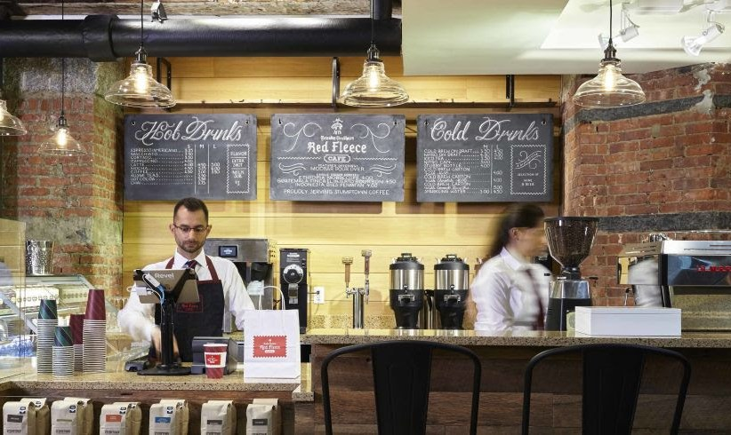 Brooks Brothers Swap Clothes for Coffee