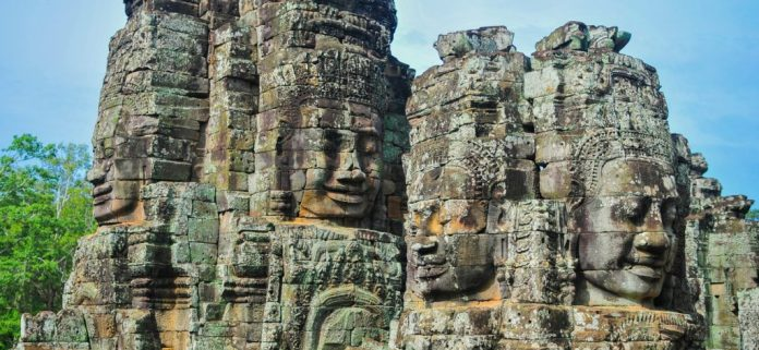 The beautiful Cambodia built by SURYAVARMAN II