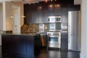 Dark Shaker Cabinet Reface NYC