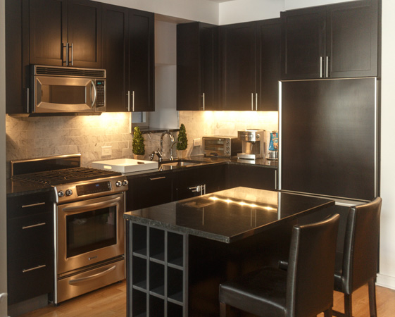 FlatIron District After Refacing Kitchen Cabinets