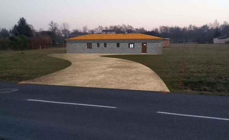 Maison neuve en pierre