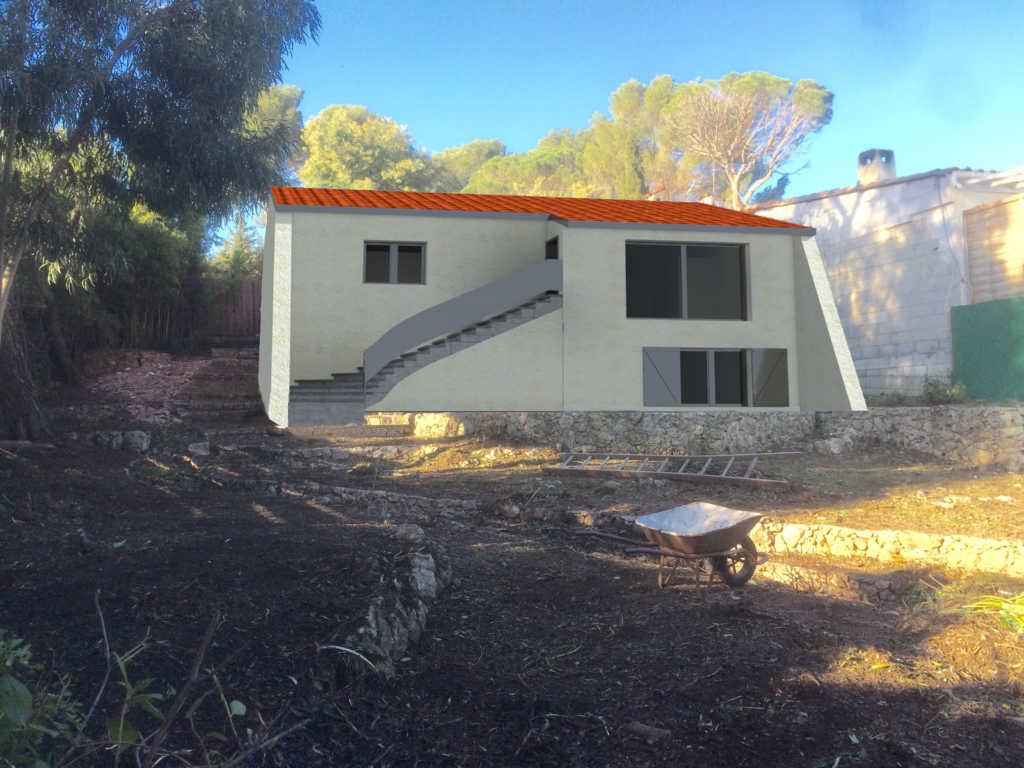 permis de construire surélévation maison