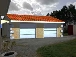 PCMI6 Permis de construire Garage Bordeaux