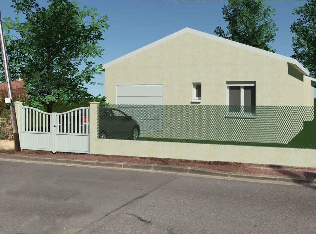 Permis de construire maison à Cenon