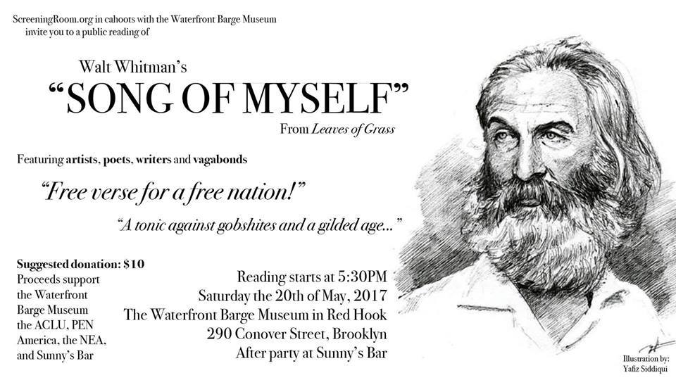 walt whitman song of myself 4
