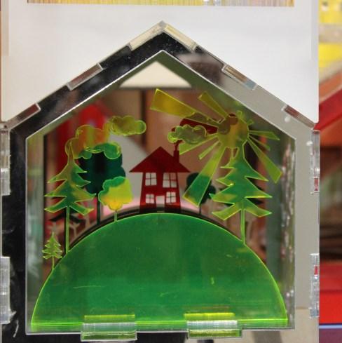 Make charity dollhouse slides