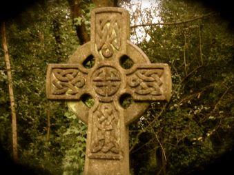 celtic cross tombstone