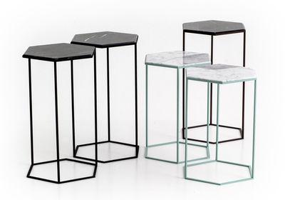 Diesel hexagon side table