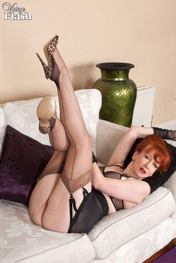 High Heels Stockings Creampie