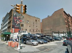 Corner lot at 42 Crosby Street. Image Credit: Google.