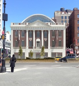 Proposed Rendering of Tammany Hall Addition. Image Credit: LPC