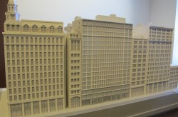 A model of a proposed building on 7 West 21st Street, New York, NY. Image Credit: MA.com.