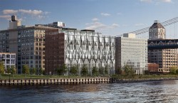 A rendering of the proposed converted Domino sugar refinery in Dumbo.  Image credit:  ODA Architecture