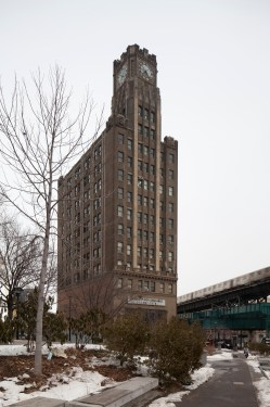 The Manhattan Bank Building in Long Island City, Queens.  Image credit:  LPC