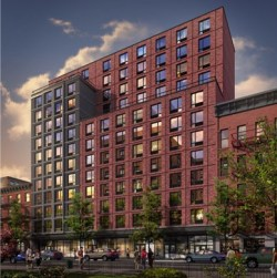 Rendering of The Frederick. Image Credit: JCAL Development.