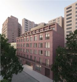 Rendering of 11 Jane Street. Image Credit: LPC.