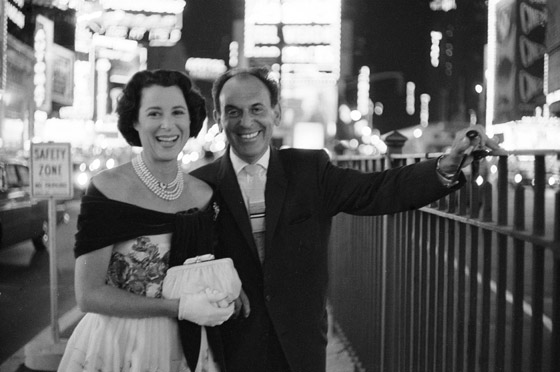 Kitty Carlisle & Moss Hart via NYMag.com