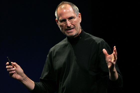 Steve Jobs en escena