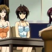 Порно аниме: Секс училки