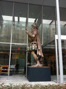 Dante Ferretti's Archimboldo Sculpture