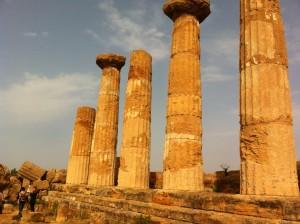 Agrigento. Hercules's Temple