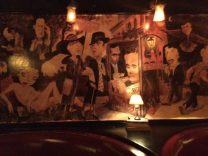 A Mural at The Waverly Inn