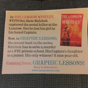 The Lemrow Mystery and Graphic Lessons a Flyer for the Northwest Book Festival