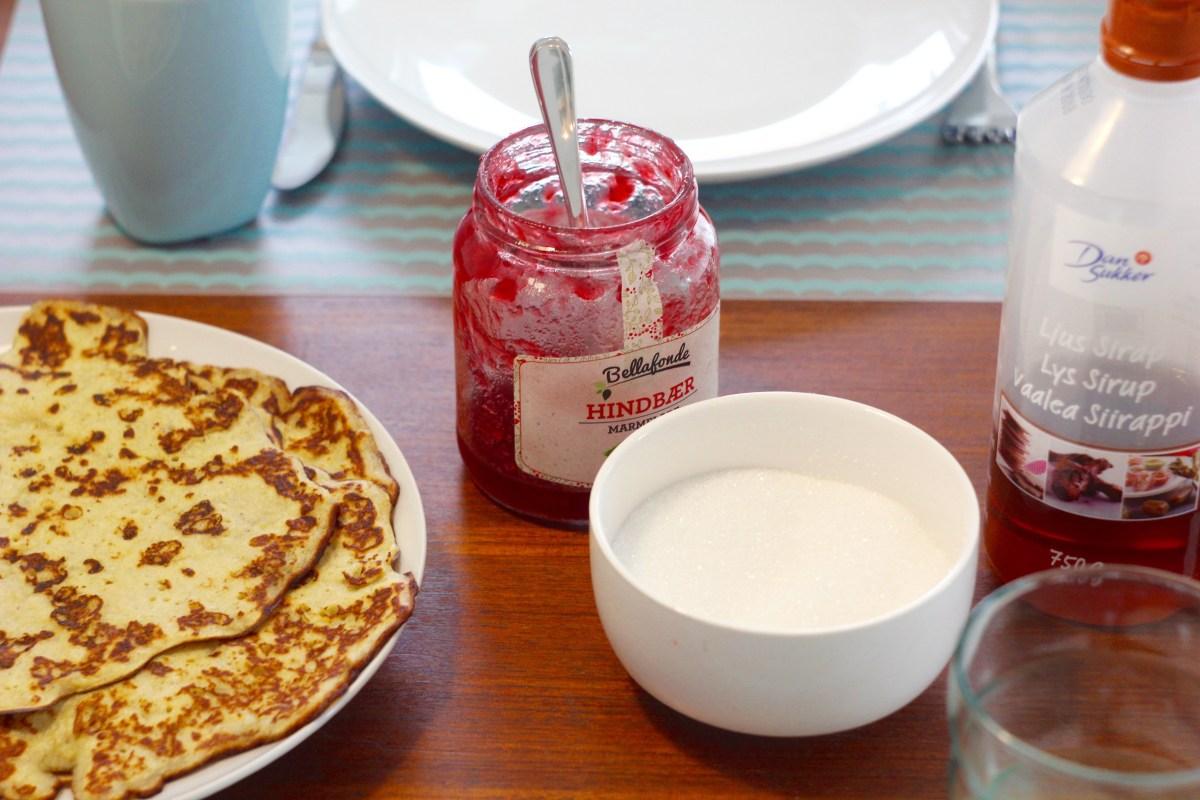 Opskrift på lækre og nemme bananpandekager: Gluten- og laktosefri