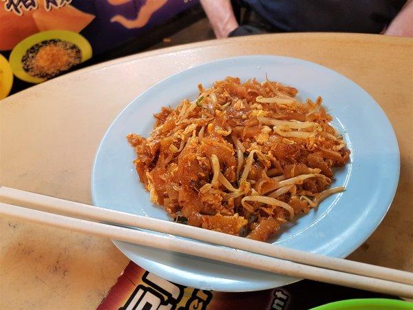 kway teow,Penang, food, hawker, Malaysian, prawns, cockles