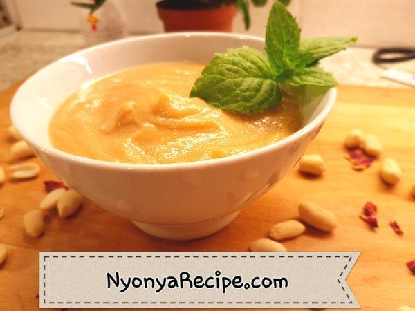 hot dessert, peanut, cream, chinese