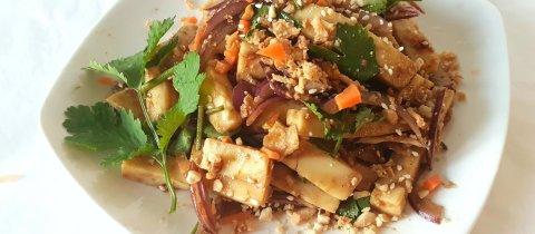 Shan Tofu aka Burmese Tofu
