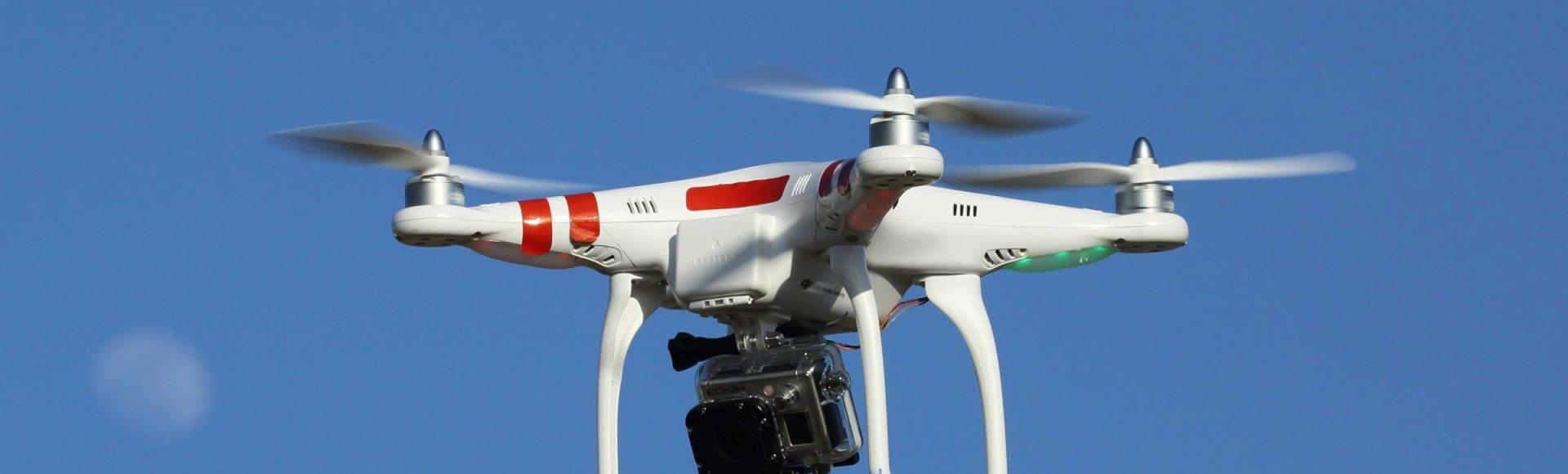 Droneflyvning på Nyord