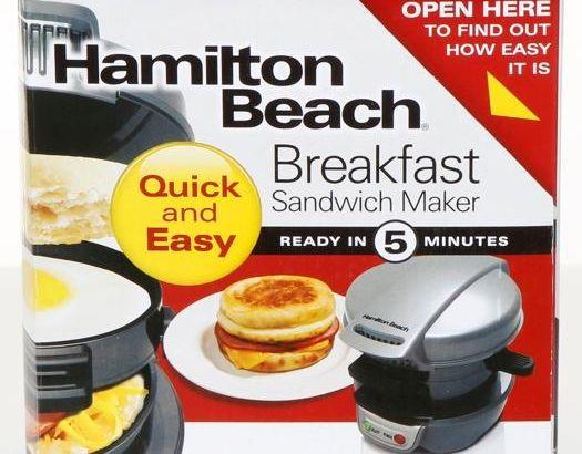 reviewed the breakfast sandwich maker