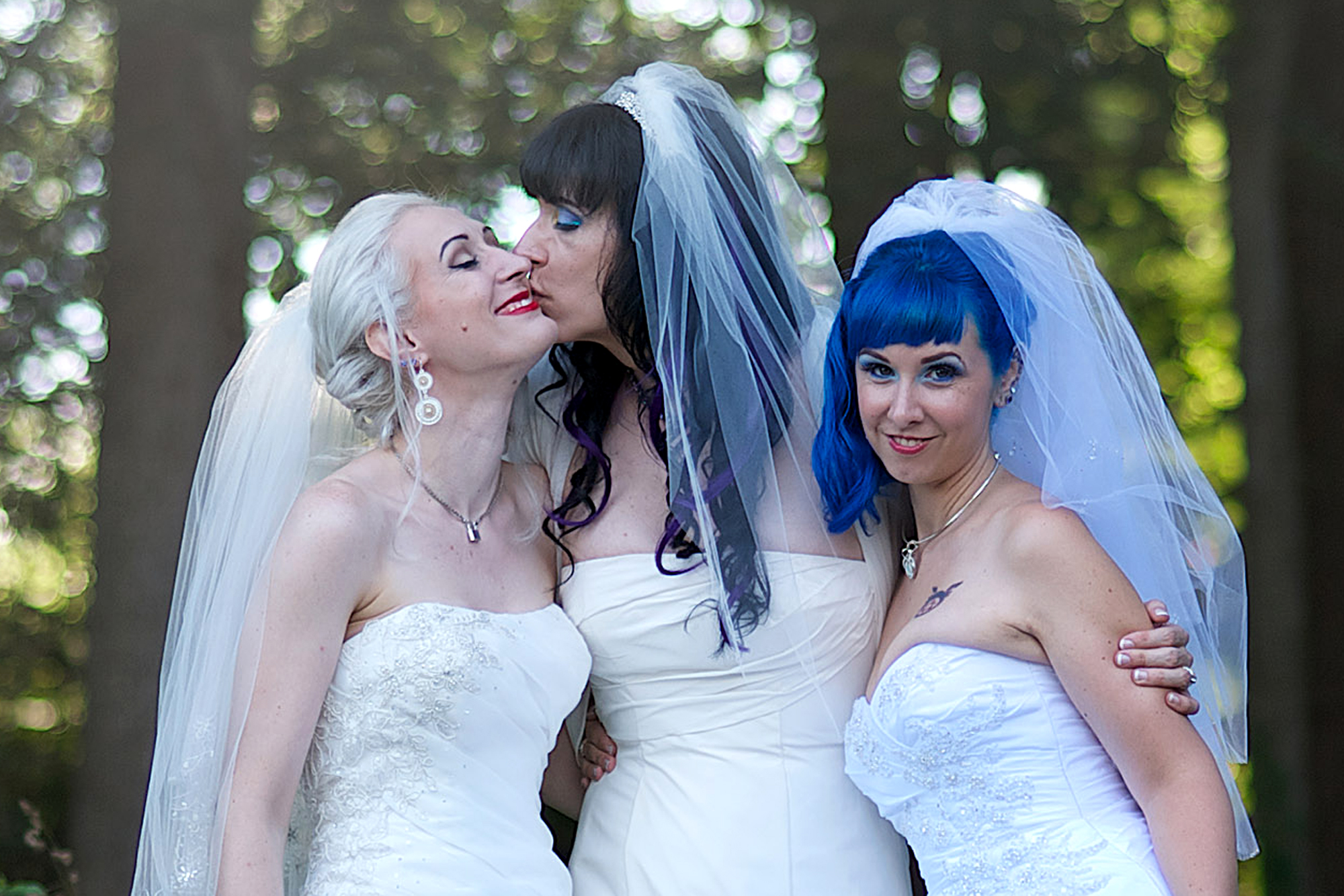 Lesbian Trio