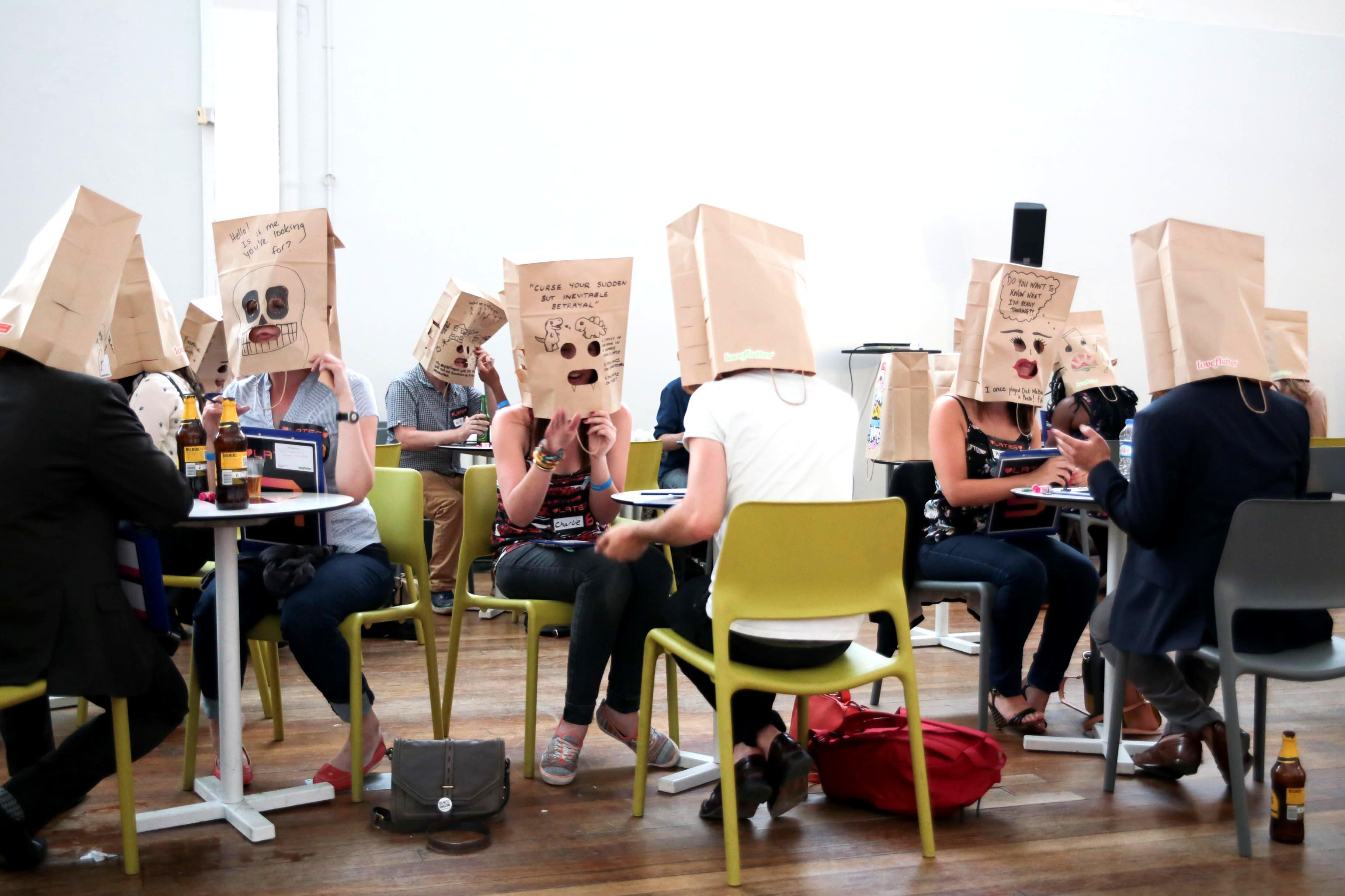 Paper bag dating dating femdom