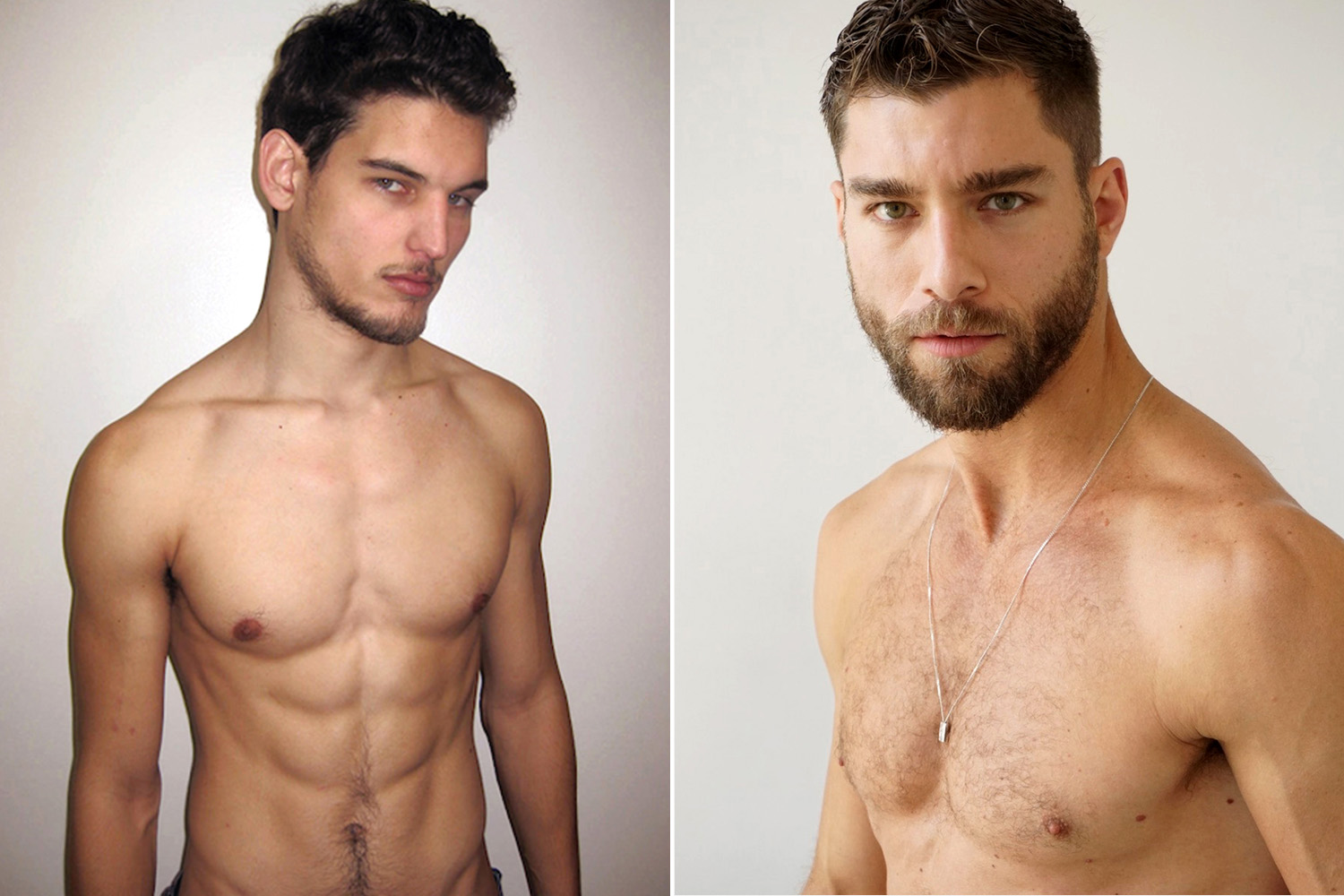 Male models secrets to looking good naked