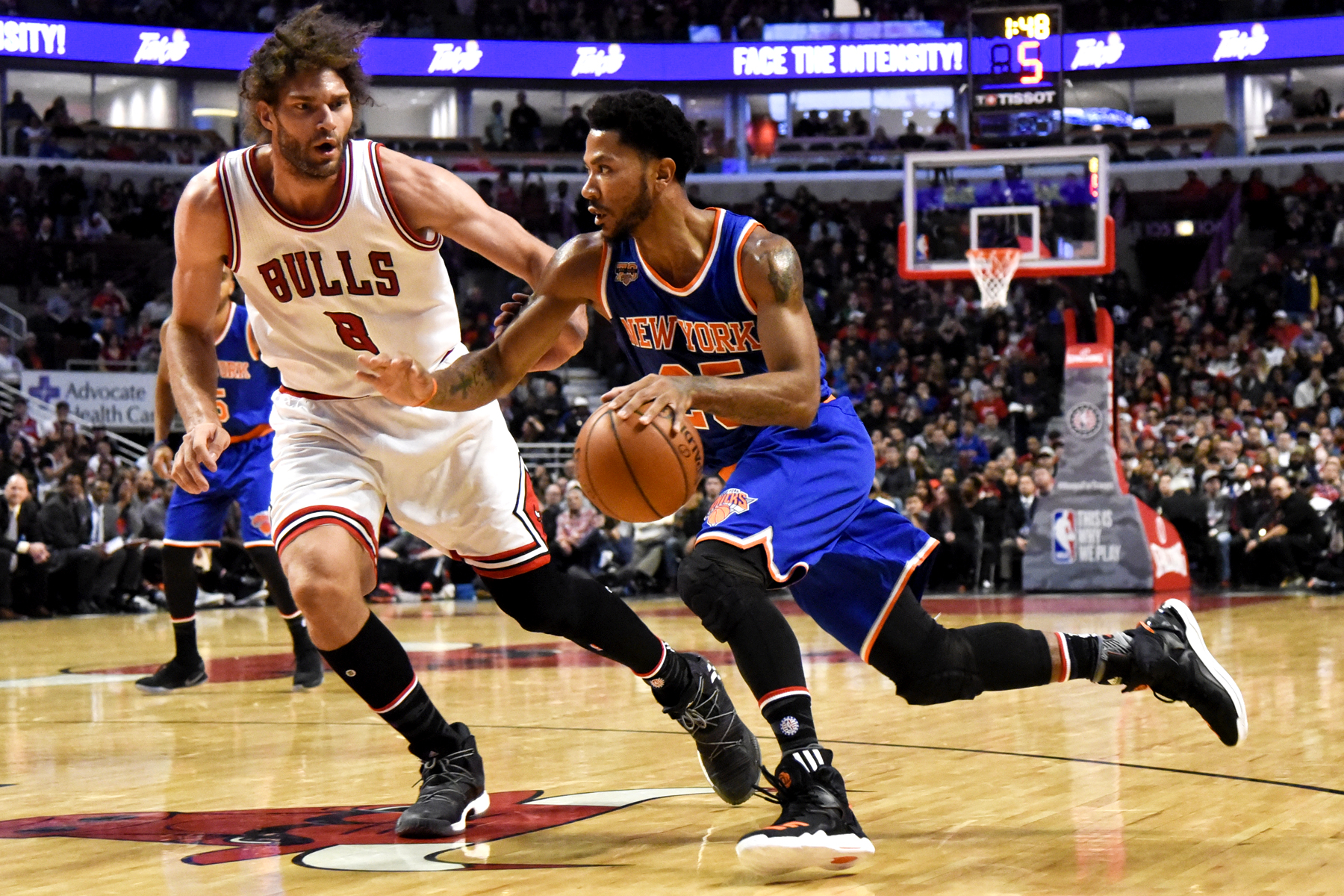 Derrick Rose silences the haters as Knicks earn big win over Bulls