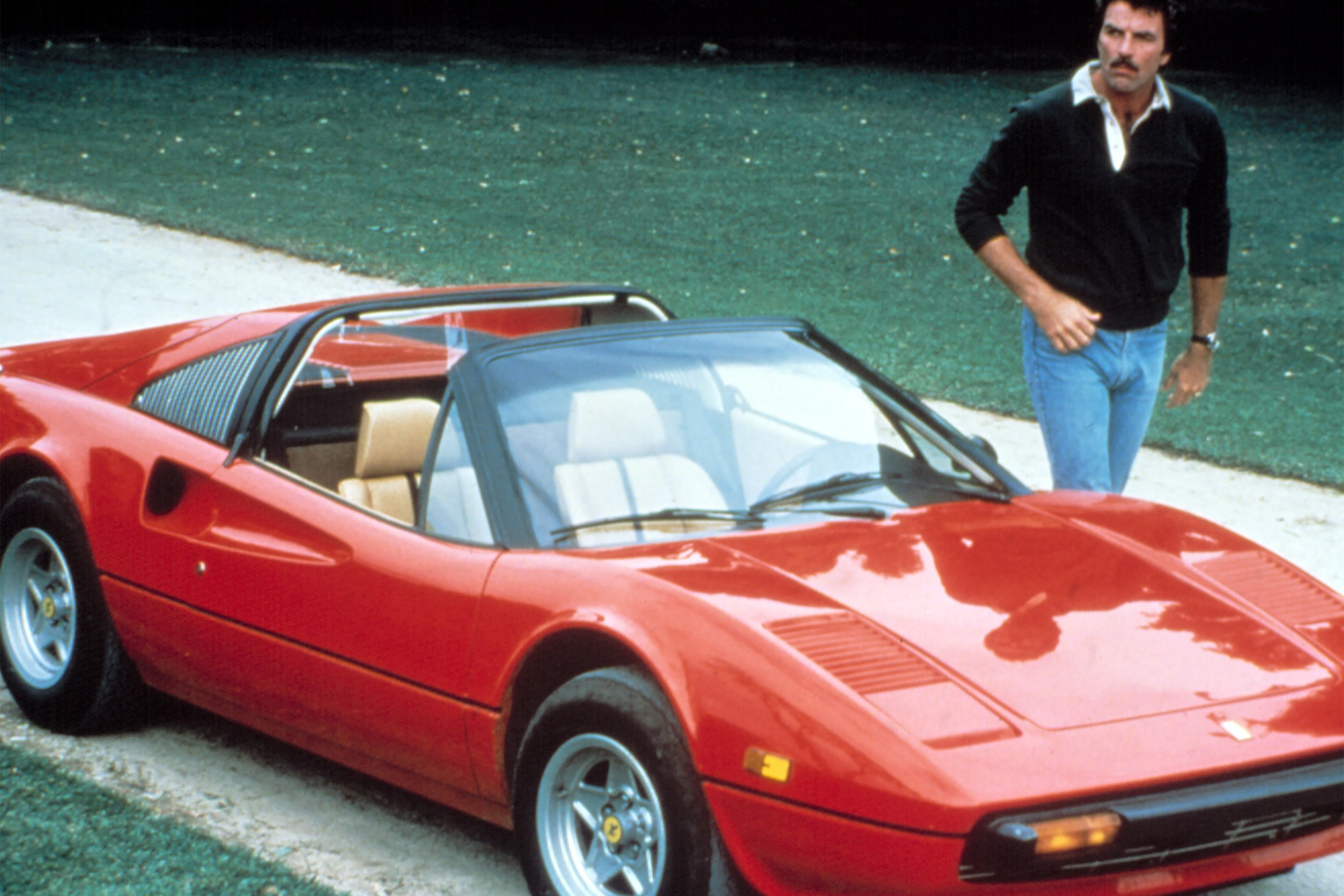 Ferrari Driven By Tom Selleck On Magnum P I To Be Auctioned