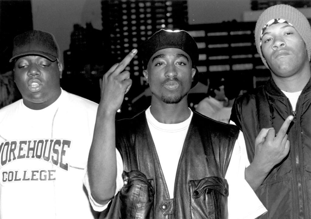 Biggie, Tupac and Redman