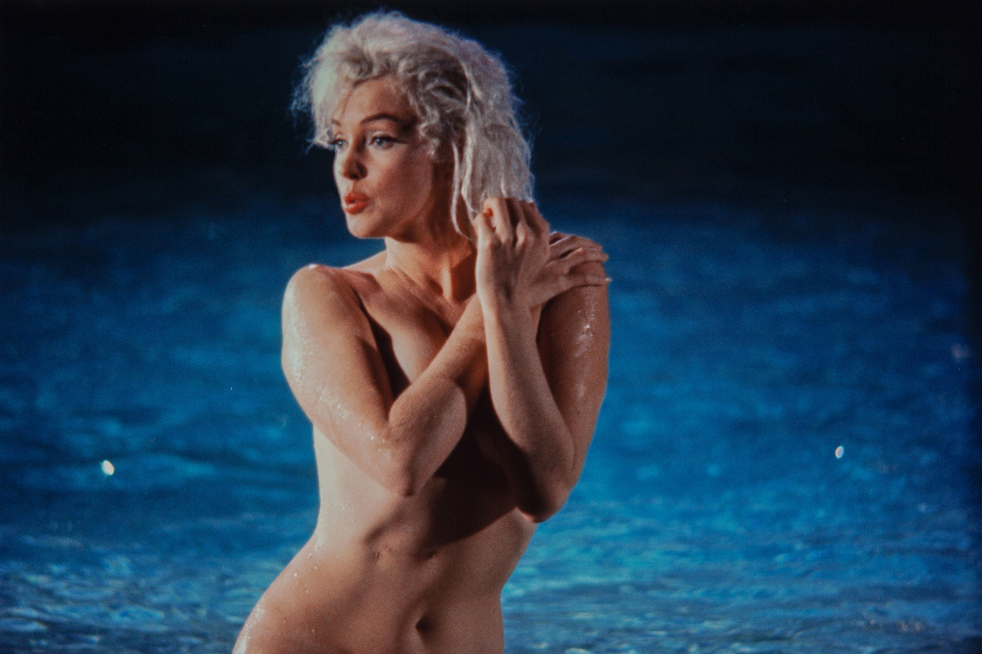 Photos of Marilyn Monroe Swimming Naked Going Up For