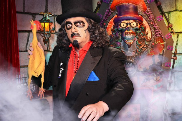 Tv Host Svengoolie Is Ready To Camp