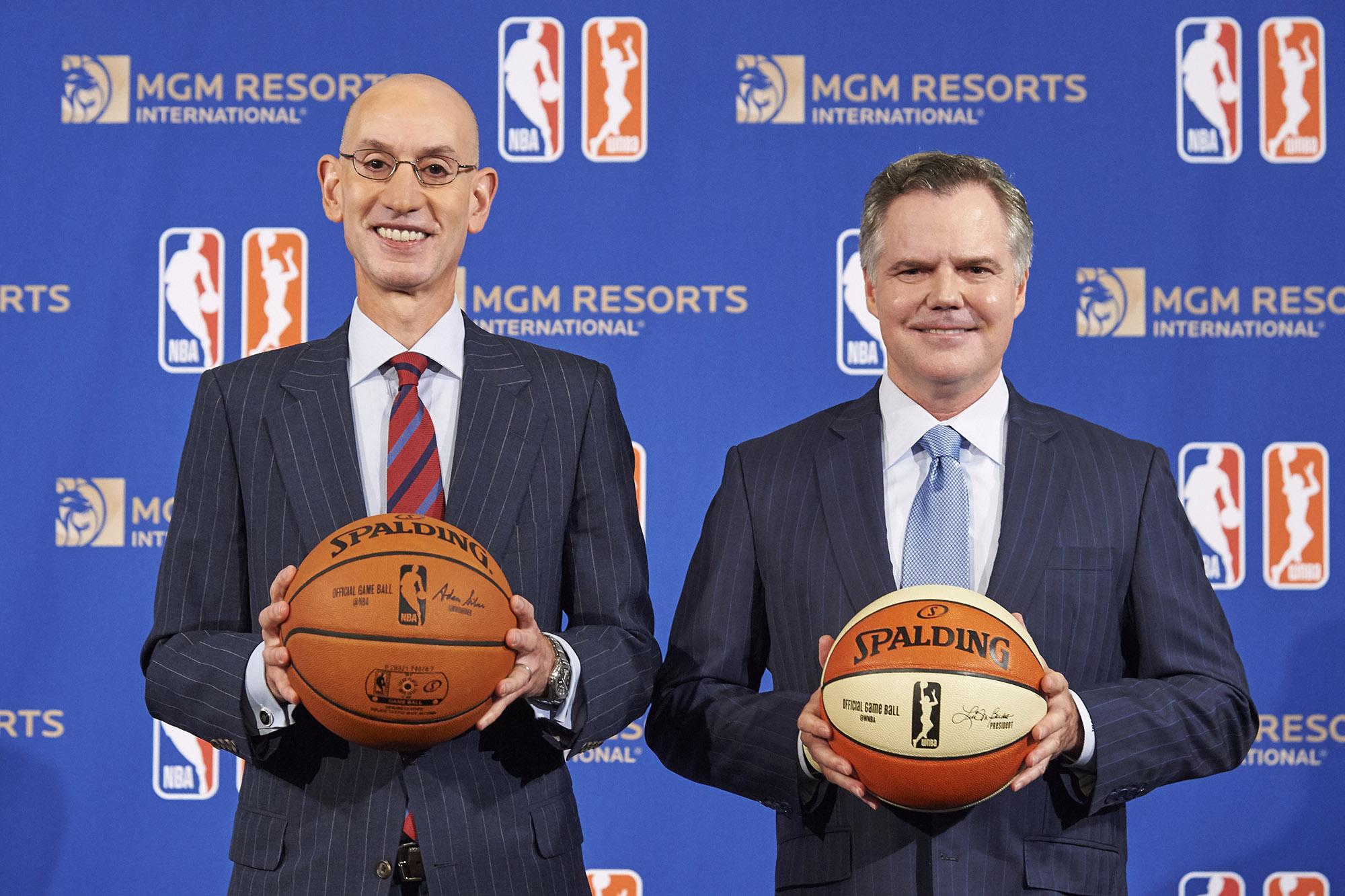 MGM Resorts Signs Sportsbetting Deal with NBA
