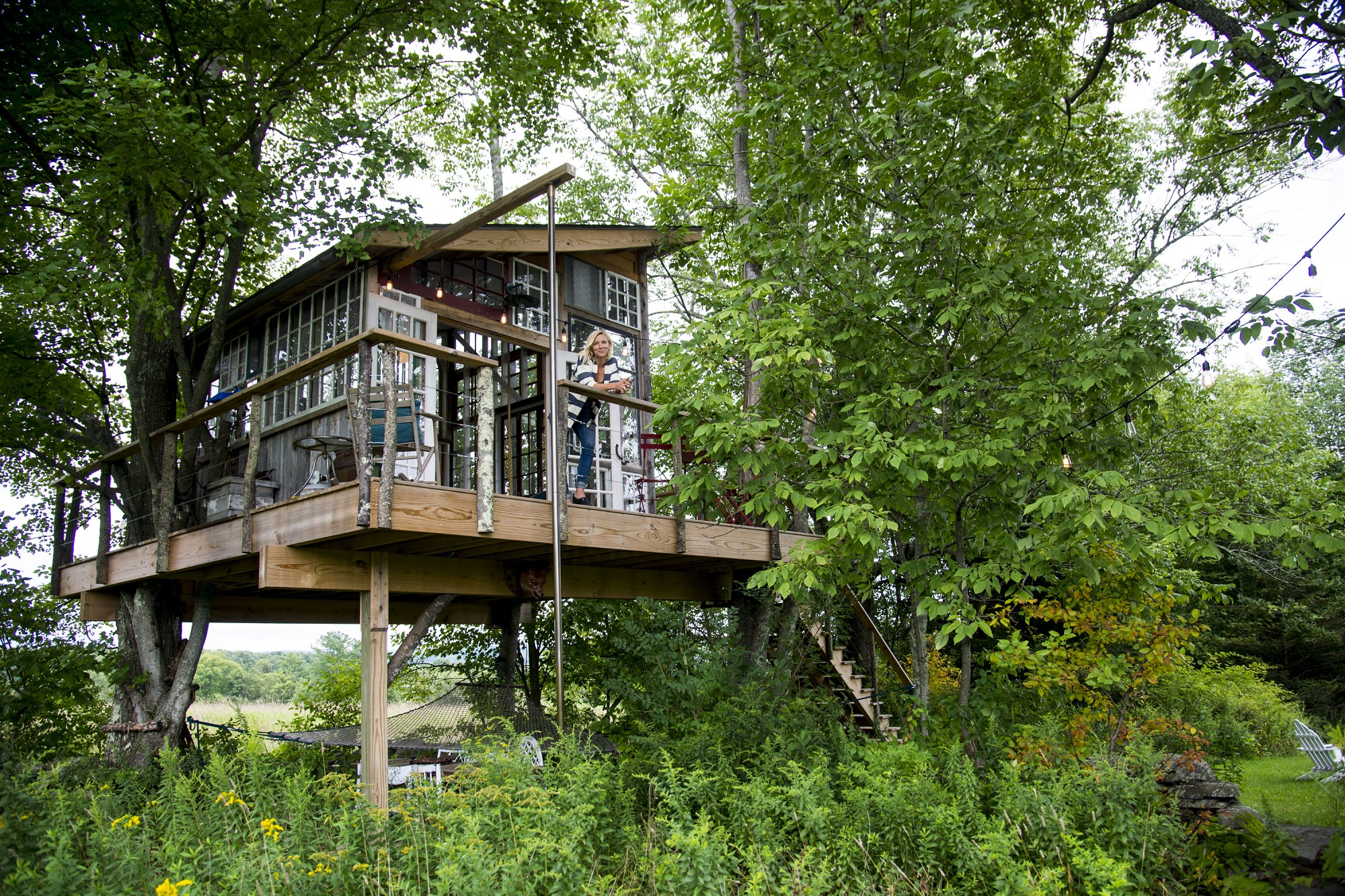 These Grown Ups Spent Thousands On Tricked Out Treehouses